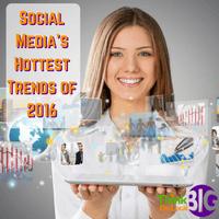 Social Media – Hottest 2016 Trends