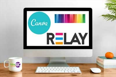Learn how to use relay and canva