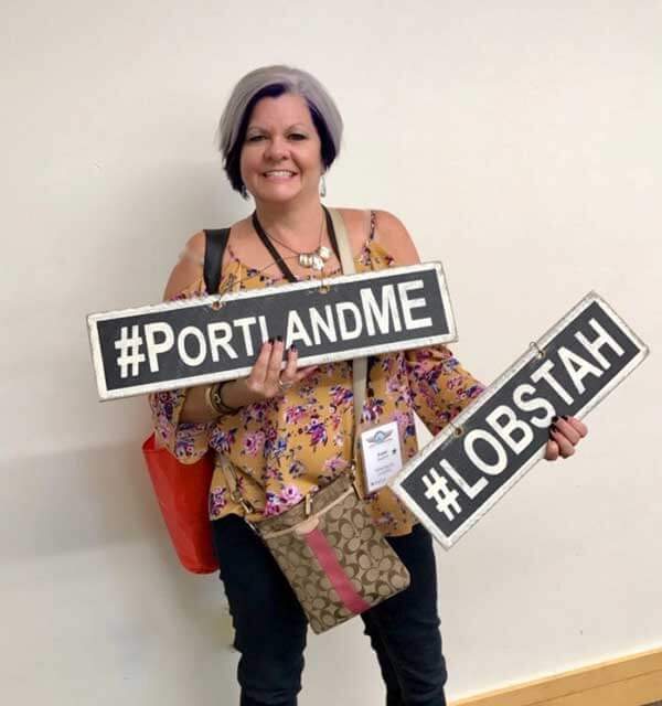 Bobbi at Agents of Change conference